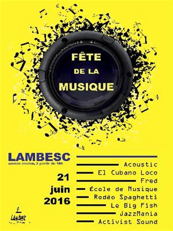 F te de la musique lambesc r sidence vacances pr s de marseille les v nements de provence - Fete de la musique salon de provence ...